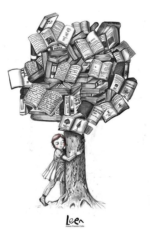 Book Lover art